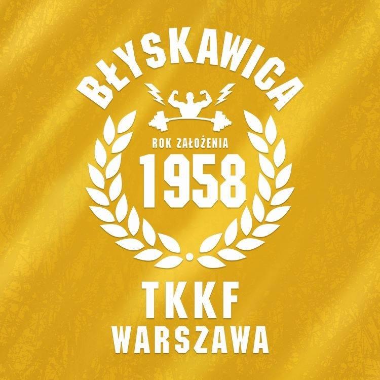 Logo siłowni Błyskawica