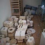 Zabezpieczenie na czas przeprowadzki wyrobów szkoły ceramiq