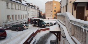 Ciężarówka MDK Przeprowadzki gotowa do przeprowadzki